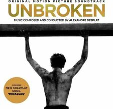 UNBROKEN Original Soundtrack 2014 CD album NEW/SEALED Alexandre Desplat