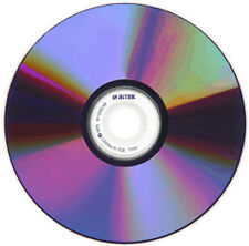 10-Pak 9.4 GB Ritek/Ridata 8X =Double-Sided= DVD-R's (record both sides of disc)