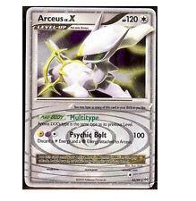 ARCEUS LV.X LVX 96/99 Ultra Rare EX Star Holo Foil Pokemon Card