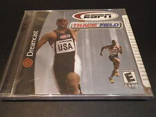 """""""ESPN International Track and Field""""  (Dreamcast) NEW Sealed (Y-folds) DC game"""