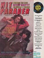 FEB 1970 HIT PARADER music magazine ROLLING STONES - BEACH BOYS - JOHN LENNON