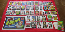 WACKY PACKAGES OLD SCHOOL 4 (LUDLOW) BACK MASTER SET 58/58