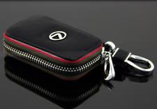 Lexus Genuine Leather Car Key Chain Holder Zipper Case Remote Wallet RX350 IS250