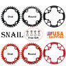 32-42T 104BCD Single Speed Chain Round/Oval MTB Road Bike Chainring Crankset