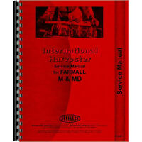 New Service Manual for McCormick Deering WD6 Tractor