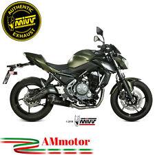 Scarico Completo Mivv Kawasaki Z650 2017 17 Terminale Delta Race Black Moto