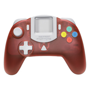 Retro Fighters StrikerDC DreamCast Red Controller  - Official UK Stockists