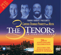 The Three Tenors : The 3 Tenors in Concert 1994 CD 20th Anniversary  Album with