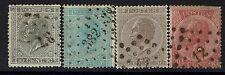 Belgium Sc# 18-21, Used, # 18 Small Shallow Thin - Lot 103016