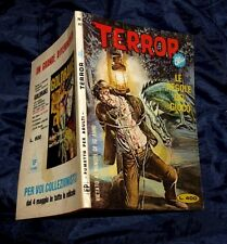 TERROR BLU N° 82 1980 EDIPERIODICI FUMETTO LE REGOLE DEL GIOCO