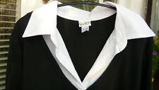 """""""So bin ich""""Damen Shirt Schwarz/weiß 3/4 Arm Gr.48/50 Neu !!"""