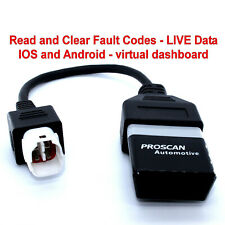 Yamaha FI, OBD2 fault code scanner diagnostic tool Tracer-900 GT BLUETOOTH