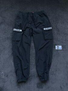 Supreme Reflective Taping Cargo Pant Black Large