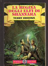 "T. Brooks: ""LA REGINA DEGLI ELFI DI SHANNARA"" - Mondadori 1993"