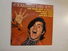 "SCREAMING LORD SUTCH:(w/Blackmore)Train Kept A' Rollin'+3-France 7""65 CBS EP PCV"