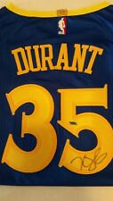 Kevin Durant Signed Blue Nike Golden State Warriors Jersey Certified