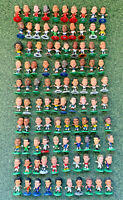 Collection of 100 different Soccerstarz footballers - Different clubs, bases (D)