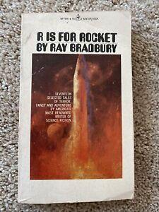R IS FOR ROCKET by Ray Bradbury Bantam Books Edition Vintage Paperback RARE