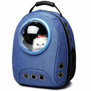 Pet Carrier Durable Backpack Capsule Travel Dog&Cat Bag Breathable Astronaut