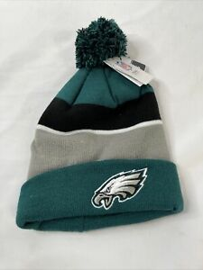 NWT-Philadelphia Eagles Knit Hat Green Beanie Cap NFL Warm