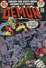 DEMON #13 Very Good, Jack Kirby art, DC Comics 1973