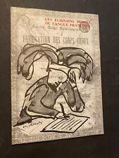 [17512-B90] Les écrivains belge - Fabrication des corps creux - Alechinsky, Bury