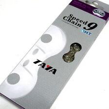 TAYA NOVE-91(UL) 9 Speed Ultima Light Chain, Silver, 116 Links, S37