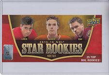 15/16 UD NHL Star Rookies Box Topper