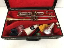 Vintage Olds Fullerton Recording Trumpet With 3 Mouthpieces & Extras In Case