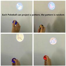 New Pokemon 5CM Pokeball Key ring random projection pet wizard ball Red