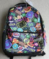 New Funky Urban Junk Lap Top Bag Rucksac size 17in x 13in lots of pockets