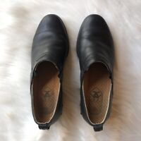 ARIAT Leather Western Paddock Slip On Clogs Shoes in Black, Size 6.5 B