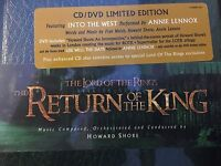 The Lord of the Rings: The Return of the King Soundtrack CD / DVD - SEALED NEW !