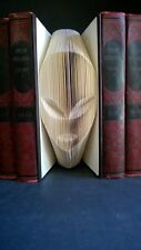 Alien! Hand Folded Book Art Spaceship Extraterrestrial Space Universe outerspace