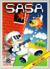 SASA for Colecovision / ADAM Cart.  NEW / CIB, SUPER GAME MODULE REQ'D