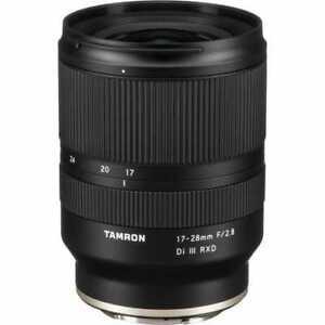 Tamron 17-28mm f/2.8 Di III RXD Lens - Sony E-Mount