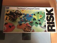 Vintage Risk World Conquest Board Game Parker 1985 Complete