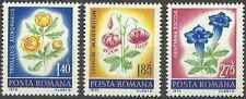 Timbres Flore Roumanie 2738/40 ** lot 13672