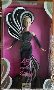 Mattel Barbie Convention Bob Mackie 45th Anniversary Doll Autographed