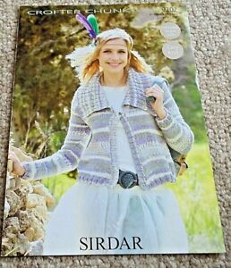 """Ladies cardigan in Crofter Chunky to fit 32"""" - 54"""" bust"""