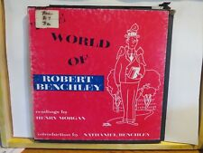THE WORLD OF ROBERT BENCHLEY READINGS BY HENRY MORGAN AUDIO ARTS DBL LP