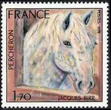 Timbre Chevaux France 1982 ** lot 25998