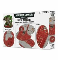 SECTOR IMPERIALIS 60mm ROUND BASES - WARHAMMER 40K-GAMES WORKSHOP #
