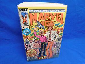 MARVEL COMICS: MARVEL AGE  #8 Nov 1983. Stan Lee Cover VF/NM