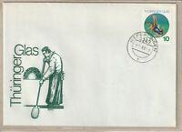 """Ersttagsbrief - """"Thüringer Glas"""" mit Marke und Stempel 1983"""