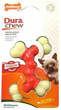 Nylabone DuraChew Double Bone Bacon Flavor Dog Toy, X‑S.. Free Shipping