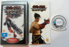 Tekken Dark Resurrection (Sony PSP, 2005) Playstation Portable Game Complete