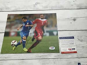 Sebastian Giovinco Signed Italy Italia 8x10 Photo PSA/DNA COA Autographed d