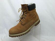 "TIMBERLAND 72066 Premium 6"" Waterproof Nubuck Leather Boot Men 11 M Brown"