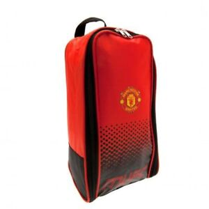Manchester United Boot Bag - Fade Design Back To School Official F.C. Football